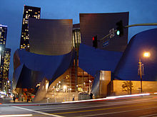 Walt Disney Concert Hall Bunker Hill Downtown L.A.